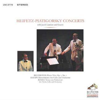 Heifetz-Piatigorsky Concerts With Jacob Lateiner & Guests